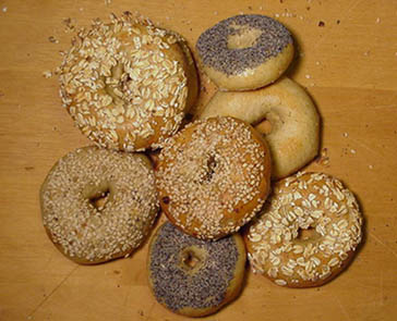 Fresh Bagels- click on image for detail