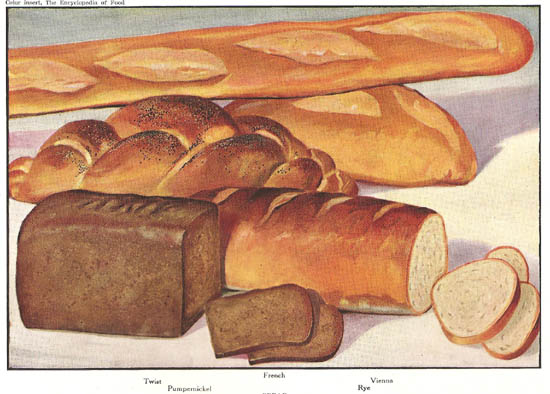Antique Breads Print- click on image for detail