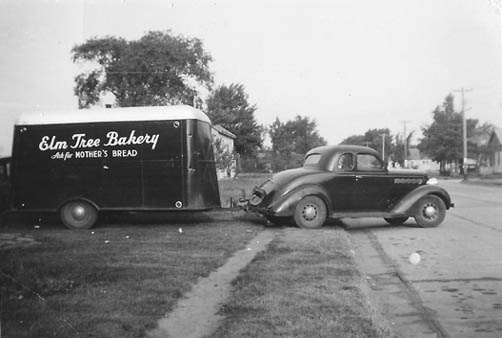 Elm Tree Bakery Trailer Photo- click on image for detail