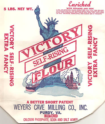 Victory Flour Bag- click on image for detail